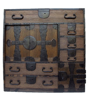 12D6 Choba Tansu with Secret Compartment