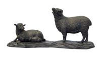 12M86 Sheep Okimono