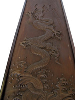 Carved Wood featuring Dragon