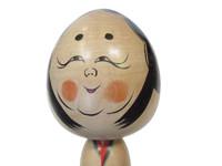 12M241 Kokeshi Doll Traditional Tougatta School Otafuku Artist Miyagi
