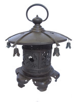13M11 Bronze Temple Lantern / SOLD