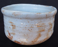 13M44 Shino Chawan for Tea Ceremony
