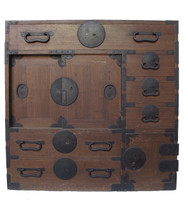 13D7 Choba Tansu with a Secret Compartment