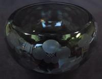 13M74 Mizusashi Glass for Tea Ceremony