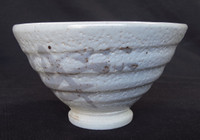 13M79 Shino Chawan for Tea Ceremony