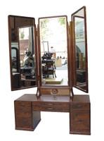 13M117 Tri-Fold Mirror Vanity