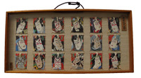 13M270 18 Hand Painted Kabuki Pictures in Kite
