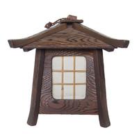 13M282 Wooden Lantern