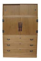 14A3 Kimono Isho Tansu 3 Section