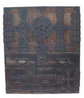14B11 Kannon Isho Tansu w/Secret Compartment 2 Section