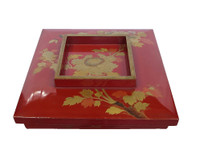 14M81 Square Lacquer Box with Makie