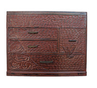 14M189 Kamakura Bori Sewing Box