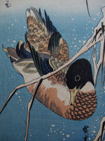 14S19 Woodblock Print Hiroshige