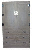 15A4 Kimono Isho Tansu 2 Section (Awaiting restoration) / SOLD