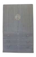 15A8 Kimono Chest Isho Biraki Kamo Tansu 2 Section