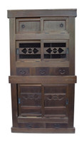 15E2 Mizuya Tansu Kitchen Chest 2 Section