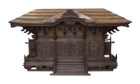 15M8 Large Shinto Shrine Yashiro Omiya Kamidana
