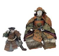 15M11 Musha Samurai Doll A Pair