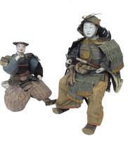 15M46 Musha Samurai Doll A Pair