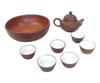 15M152 Chinese Tea Set 8 Pieces