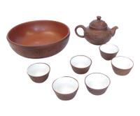 15M152 Chinese Tea Set 8 Pieces