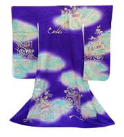 15M268 Furisode Kimono