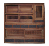 16E7 Gifu Mizuya Tansu 2 Section(Awaiting restoration) /SOLD