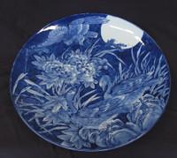 16M18 Large Imari Plate Meiji 15