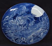 16M19 Large Imari Plate Meiji 15