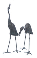 16M31 Crane A Pair for Garden / SOLD