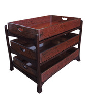 16M121 Kimono Tray with Stand / SOLD