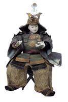 16M303 Musha Samurai Doll for Boy's Day