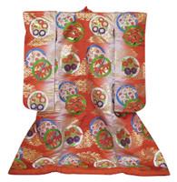 16M353 Uchikake Wedding Kimono