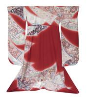 16M395 Furisode Kimono / SOLD