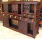 Antique Mizuya Tansu with cabinets opened