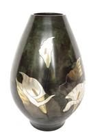 63-1 Bronze Flower Vase