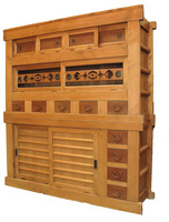 6E1 2 Section Mizuya Kitchen Chest