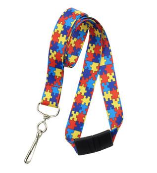 Autism Awareness Lanyard, 2138-5282