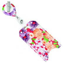 Floral Badge Holder,#806-T2V-FLORAL  (100)