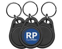 RapidPROX  PROXPak, 10 SlimLine Proximity Key Fobs
