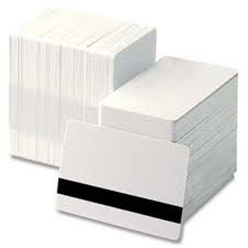 """30mil PVC Cards with Two-Track Hi-Co Mag Stripe, 5/16"""" Wide Mag"""