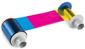 84517 HDP5600 Printer Ribbon, Fargo HDP YMCKK Half-Panel Ribbon, 084517, 84517, 084517