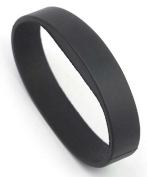 Silicon RFID Wristband, MIFARE® Technology RapidBAND™, 13.56MHz, ISO 14443A