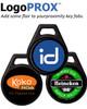 LogoPROX™ Custom-Printed Key Fobs. 1346LNSMN ProxKey III