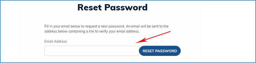 Easy Returns - Change Your Account Password