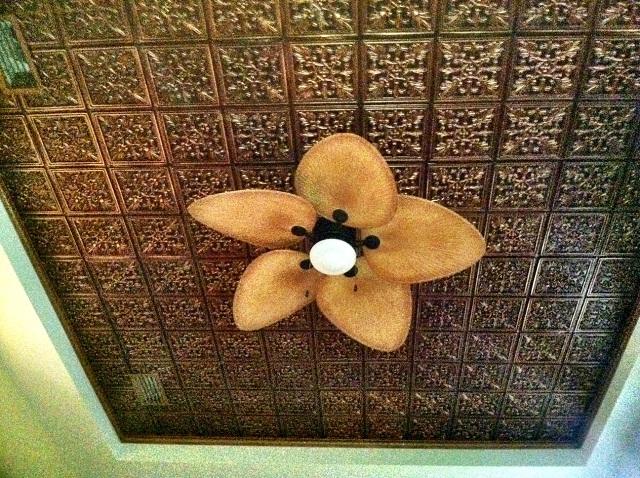 kachina doll faux tin ceiling tile glue up 24x24 401 - Faux Tin Ceiling Tiles