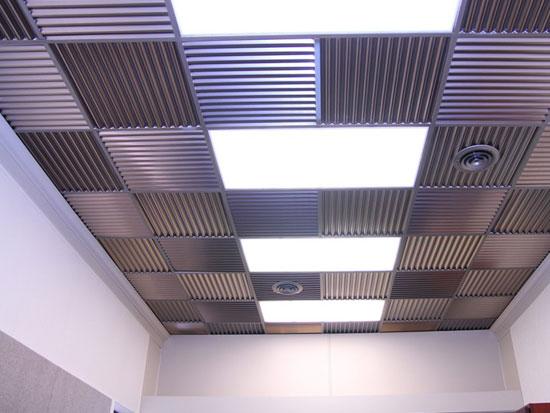 Corrugated Mirroflex Ceiling Tiles Pack
