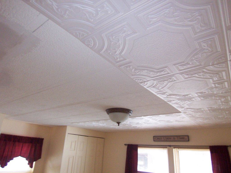 Kitchen Ceiling Makeover By Albert Nelson Jr Decorative