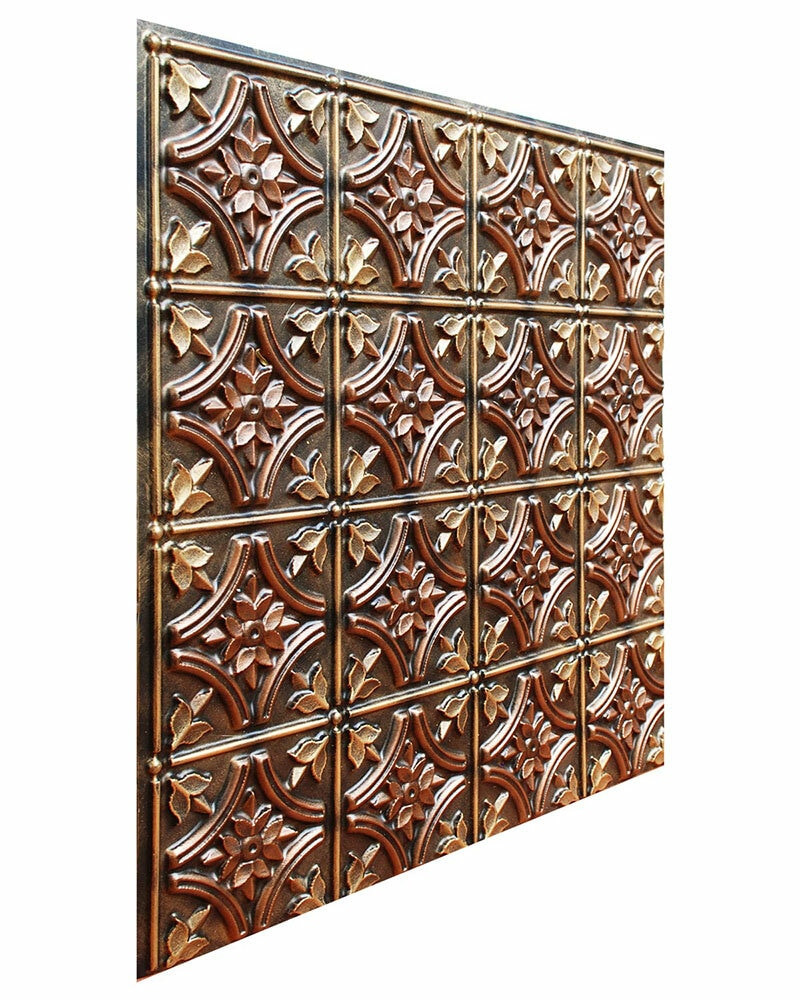 Gothic Reims - FAD Hand Painted Ceiling Tile - CTF-009