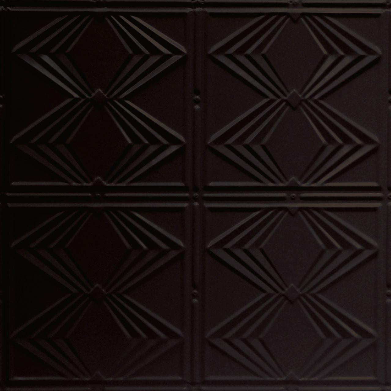 Diamond Jim Shanko Powder Coated Tin Ceiling Tile